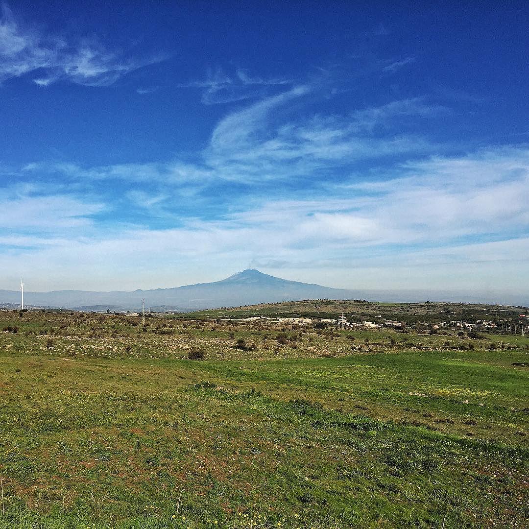 Viste dell'Etna lungo la ragusana